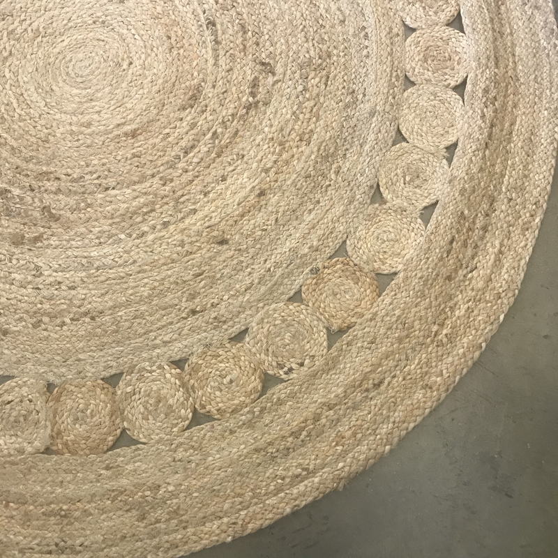 Braided Natural Jute Rug Maya Rugs